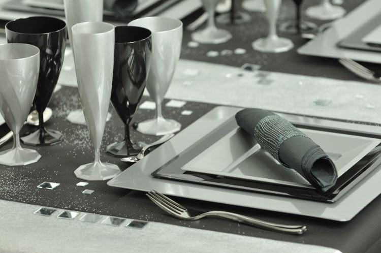 Assiette Plastique Mariage – Palzon.Com